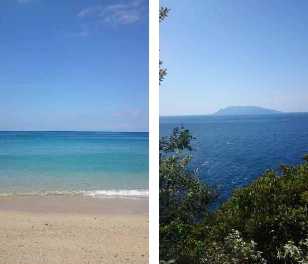 屋久島の海の素晴らしい景色